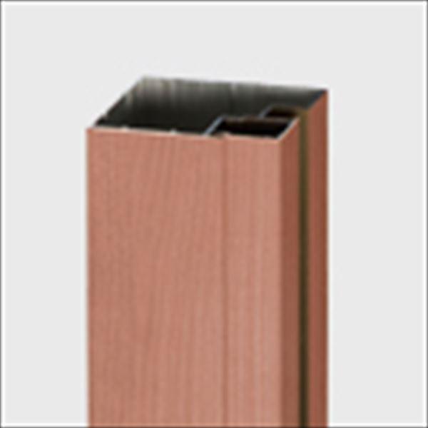 リクシル TOEX デザイナーズパーツ 柱材 75×75 間仕切り・端部用 L2350 マテリアルカラー 8TYF37□□ 『外構DIY部品』
