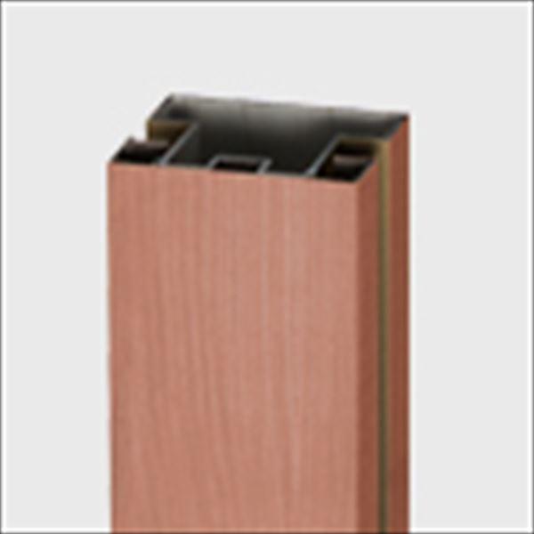 リクシル TOEX デザイナーズパーツ 柱材 75×75 間仕切り・中間用 L2350 マテリアルカラー 8TYF39□□ 『外構DIY部品』