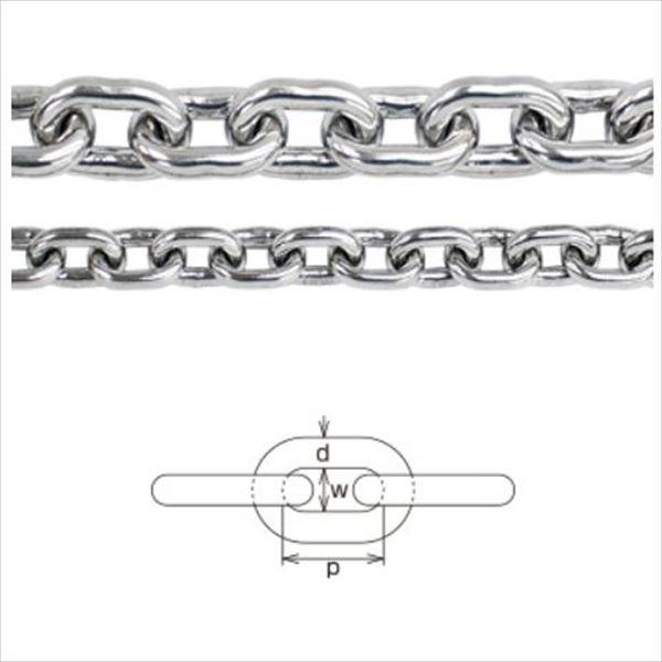 水本機械製作所 ステンレスチェーン 短鎖環(ショートチェーン) 10mm 10-S *価格は1m単価で商品は1本もので納品です