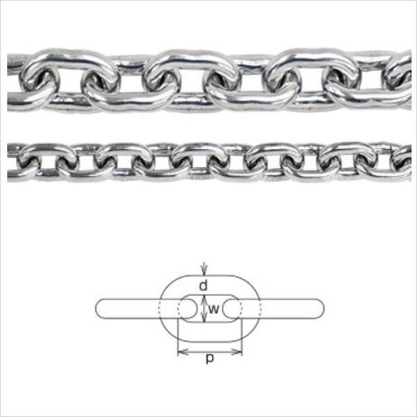 水本機械製作所 ステンレスチェーン 短鎖環(ショートチェーン) 22mm 22-S *価格は1m単価で商品は1本もので納品です