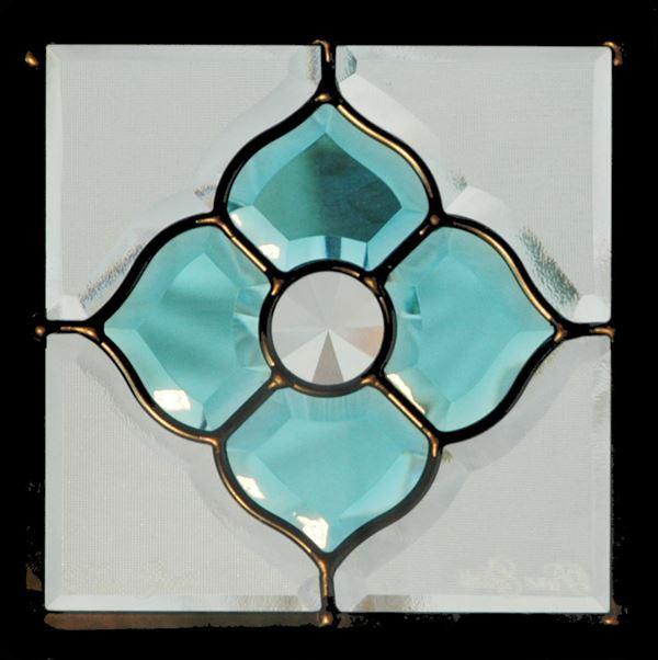 セブンホーム ステンドグラス ピュアグラス Dサイズ SH-D03