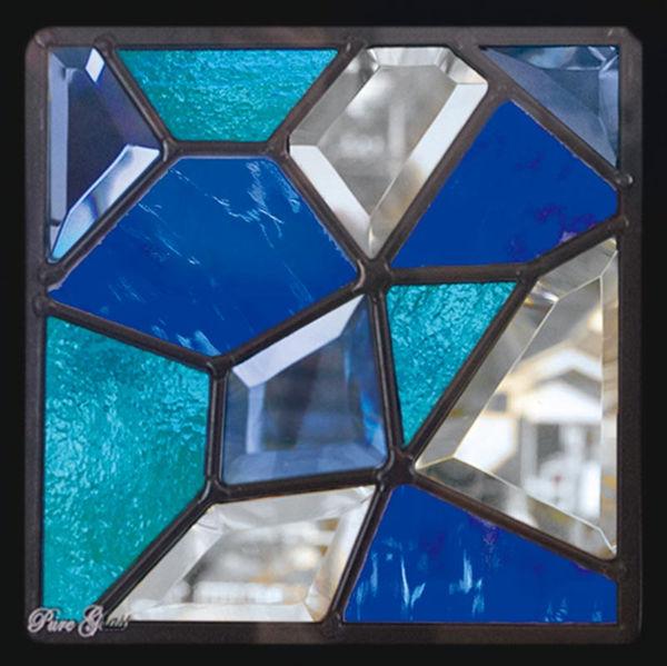 セブンホーム ステンドグラス ピュアグラス Dサイズ SH-D24