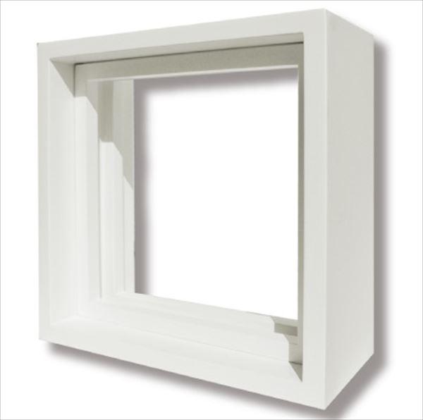 セブンホーム ステンドグラス ピュアグラス オプション Eサイズ 専用木枠(塗装済)