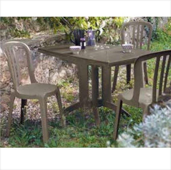 タカショー ベガ/ビストロ テーブルチェア4点セット 『ガーデンチェア ガーデンテーブル セット』