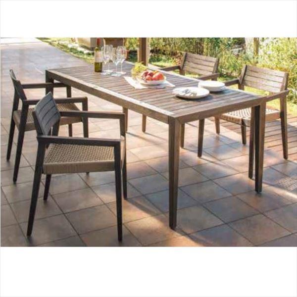 タカショー ミカド テーブルチェアー5点セット 『ガーデンチェア ガーデンテーブル セット』