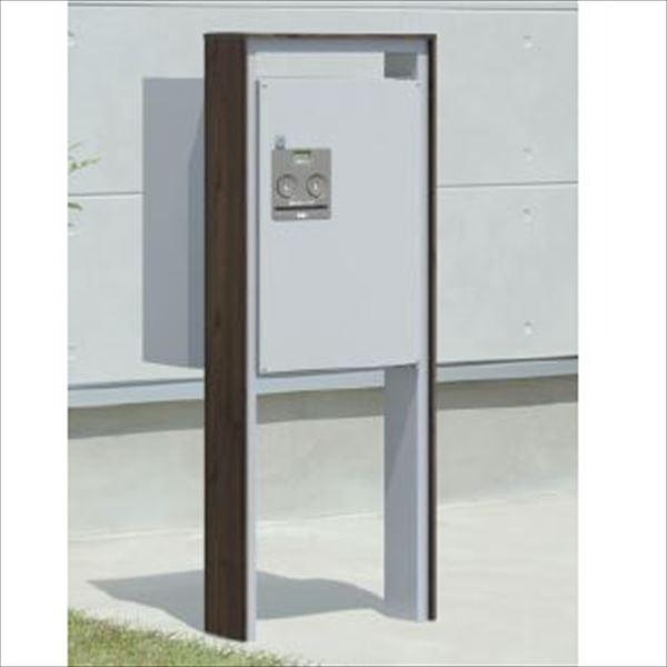 三協アルミ 宅配ボックス フレムス ミドル  ベースプレートタイプ KLC 『宅配ボックス 屋外 戸建て 』