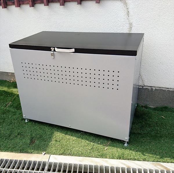 【 納期1ヶ月かかります 】 配送条件限定商品 ダイマツ ダストボックス 90  DB-90 『ゴミ袋(45L)集積目安 4袋、世帯数目安 2世帯』『ゴミ収集庫』『ダストボックス ゴミステーション 屋外 スチール』