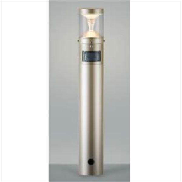 コイズミ ツインルックス モダンタイプ マルチタイプ 人感センサ付 AU45489L 『ガーデンライト エクステリア照明 ライト LED』 ウォームシルバー