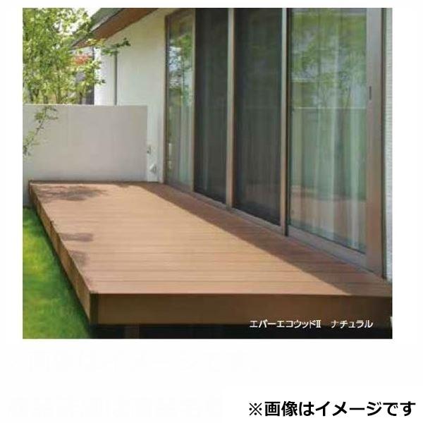 タカショー エバーエコウッド2 デッキセット (床板115mm幅仕様) 2間×4尺 「2017年秋 新商品」 『ウッドデッキ 人工木』 ホワイト