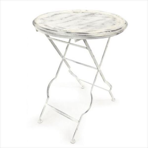 azi-azi アイアンフォールディングテーブル  AZ-1299