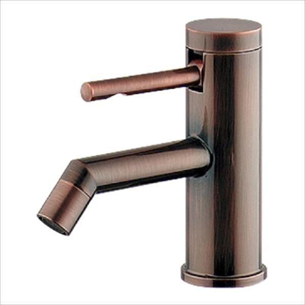 カクダイ 水洗金具 シングルレバー立水栓 ブロンズ 716-270-BP