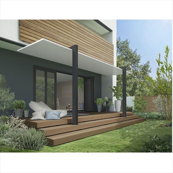リクシル テラスSC 2.0間×4尺 長尺柱 『独立テラス アルミ屋根』