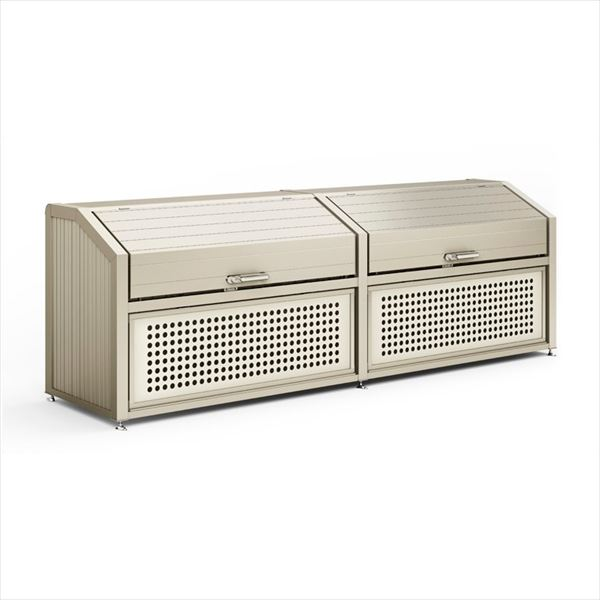 リクシル TOEX  【受注生産品】ゴミ収納庫PA型 1200  奥行800 連棟(W2)1430   『ゴミ箱 ゴミ収集庫』