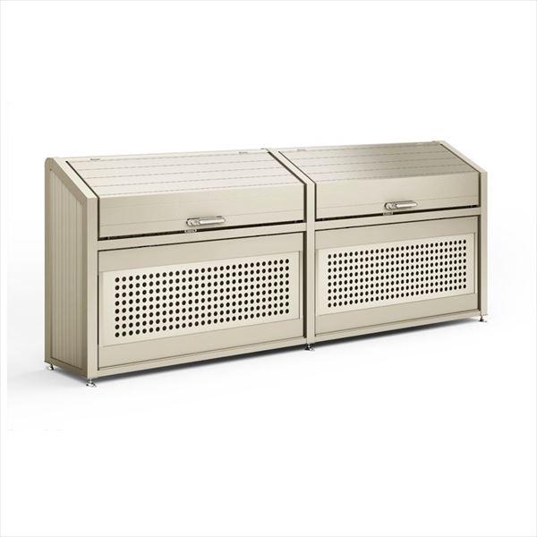 リクシル TOEX  ゴミ収納庫PB型 1400  奥行600 連棟(W2)1730   『ゴミ箱 ゴミ収集庫』