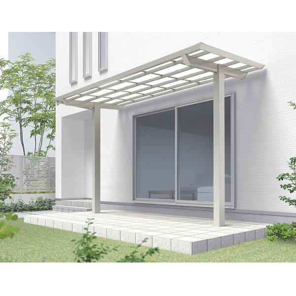 オリジナル リクシル W25×D15 テラスVB 単体セット 標準柱 標準柱 単体セット W25×D15 熱線遮断FRP板 ミストグレーS, 花と雑貨リトルガーデン:1057aa4d --- lucyfromthesky.com