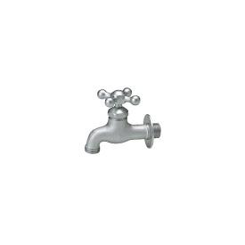 ニッコー 飾り蛇口 Fシリーズ クロス F203 『水栓柱・立水栓 蛇口 ニッコーエクステリア』 ベロアメッキ