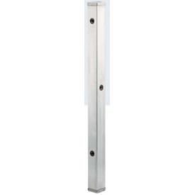 カクダイ ステンレス水栓柱(分水孔付) 70角 L=1000 624-112 『水栓柱・立水栓 蛇口は別売り』