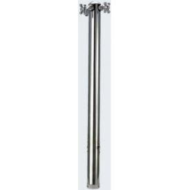 カクダイ ステンレス混合栓柱 624-202 『水栓柱・立水栓セット(蛇口付き)』