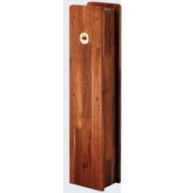 カクダイ 角水栓柱用化粧カバー(木) 624-137 『水栓柱・立水栓 オプション』