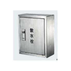カクダイ 散水栓ボックス露出型 壁用 245×200×3ミリ 6268 『水栓柱・立水栓 オプション』