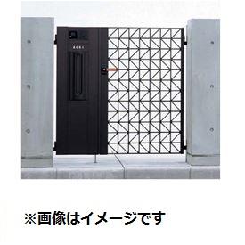 YKKAP シャローネ門扉 SC01型 04・08-10R(L) 門柱・親子開き・機能子扉ANセット(インターホン取付不可)