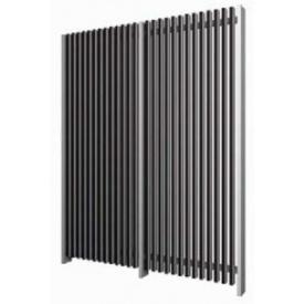 品質満点! YKKAP リウッド 化粧フェンス2N型(たて格子+化粧パネル) メーターモジュール (本体+柱)セット L字連結用 H14FL TPS-VF32N 『アルミフェンス 柵』:エクステリアのキロ支店-エクステリア・ガーデンファニチャー