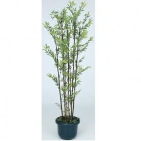 GD-50SH 黒竹7本立 グリーンデコ和風 鉢付 『人工植栽』 #21482200 1.5m タカショー