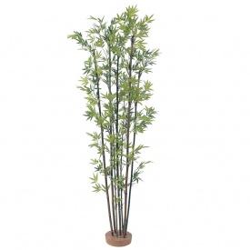 『人工植栽』 タカショー グリーンデコ和風 黒竹7本立 鉢無 1.0m GD-50SS #21485300