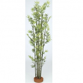 『人工植栽』 タカショー グリーンデコ和風 青竹7本立 鉢無 1.8m GD-54L #21497600