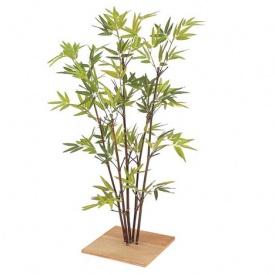 『人工植栽』 タカショー グリーンデコ和風 ミニ黒竹 80cm GD-75