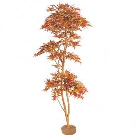『人工植栽』 タカショー グリーンデコ和風 紅葉もみじ 鉢無 1.8m GD-52L #215333100