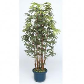 『人工植栽』 タカショー グリーンデコ和風 シュロチク7本立 鉢付 1.8m GD-128L #21553900