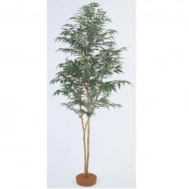 『人工植栽』 タカショー グリーンデコ和風 シラカシ 鉢無 1.8m GD-134 #21626000