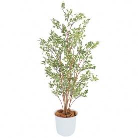 『人工植栽』 タカショー グリーンデコ和風 ベンジャミン ハワイアン鉢付 1.5m GD-120W