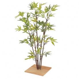 『人工植栽』 タカショー グリーンデコ和風 ミニ黒竹5本立 80cm GD-75