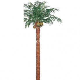 『人工植栽』 タカショー 大型人工樹 サイパンヤシ 組立式 鉢付 3.9m GD-89LH