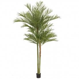 『人工植栽』 タカショー 大型人工樹 アレカパーム2本立 2.4m GD-157S