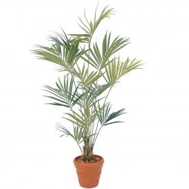 『人工植栽』 タカショー グリーンデコ鉢付 ニューケンチャヤシ 2.4m GD-102L