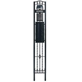 四国化成 ブルーム門柱M1型 BMPM1-16BK 『機能門柱 機能ポール』