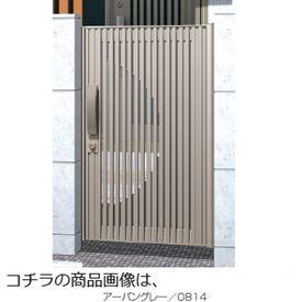 三協アルミ Jモダン2型門扉 0814 片開き 門柱タイプ MJ-2 アーバングレー