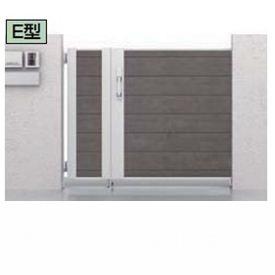 リクシル TOEX アーキスライドE型 開戸付き 04-10+15-10 引き戸 マテリアルカラー