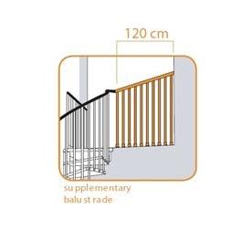 アルケ 室内用階段 室内用階段 スチール オプション オプション 欄干キット アルケ (本体と同時購入価格), ウチタチョウ:b0379e3f --- officewill.xsrv.jp