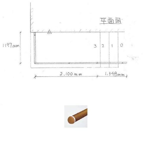 『セット販売』 YKKAP 歩行補助用手すり パルトナーUDフェンス1型 A型笠木 2コーナーセット  手すり:樹脂カラー