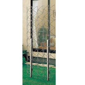 YKKAP エスパリアトレリス1型 パネル T200 『緑化 アルミフェンス 柵』 プラチナステン