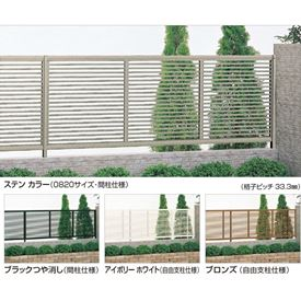 四国化成 クレディフェンス1型 本体 1020サイズ CDF1-1020 『アルミフェンス 柵』