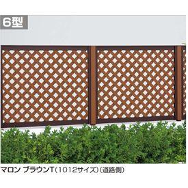 四国化成 ハイ パーテーション6型 本体 1012サイズ HPT6-1012 『ラチス 樹脂フェンス 柵』