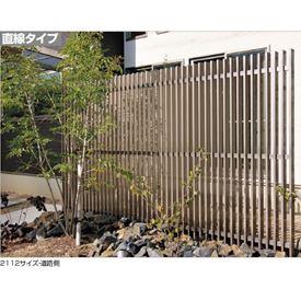 四国化成 エル パーテーションA1型 直線本体 1812サイズ LPTA1-1812SC 『樹脂フェンス 柵』 ステンカラー