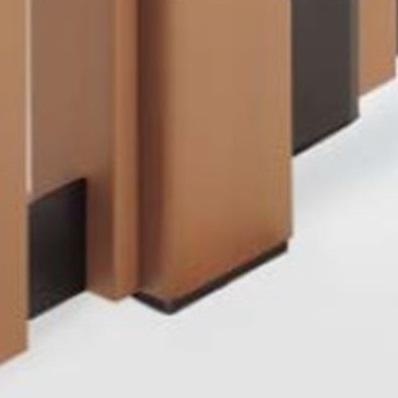 四国化成 ハイ パーテーション 1型~7型/M1型用 埋込支柱 04:角柱(角度90°) H3000用 04RP-30 『樹脂フェンス 柵』