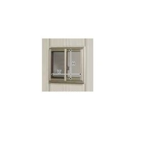 タクボ物置 Mrストックマン サッシ窓(ガラス付)21用 壁パネル1枚用 N-S21B (設置後に購入の場合)