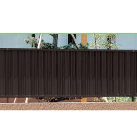 三協アルミ ニューアイシャノン3型 フェンス本体 フリー支柱タイプ 2008 『アルミフェンス 柵 高さ H800mm用』